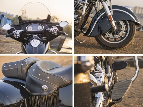 Indian Chieftain seat and handle bar