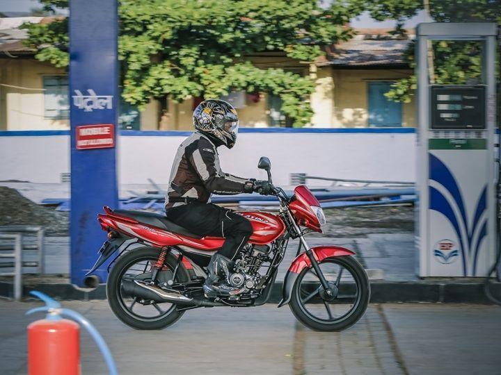 Bajaj Platina ES claims and ARAI certified fuel efficiency of 96.9kmpl