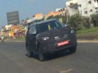 Hyundai ix25 Spy pictures