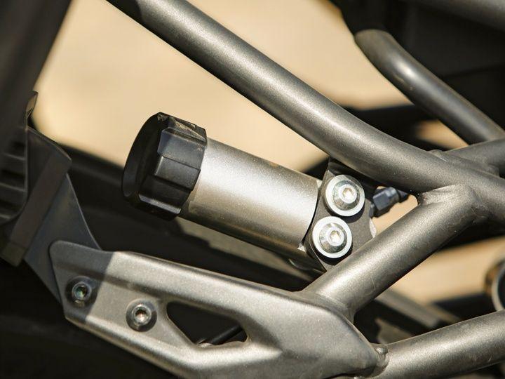 Kawasaki Versys 1000 rear suspension adjuster knob