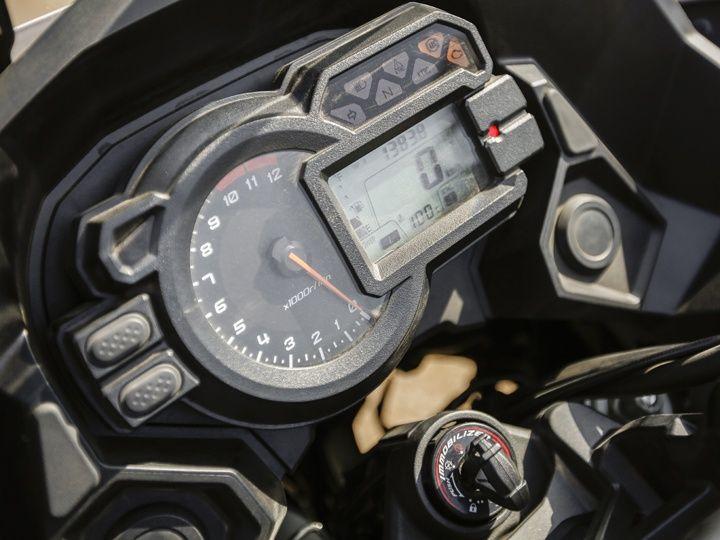 Kawasaki Versys 1000 console