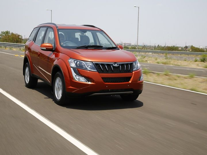 The steering of the XUV500 facelift has good feel but could have been a bit more direct