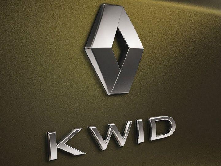 Renault Kwid badge
