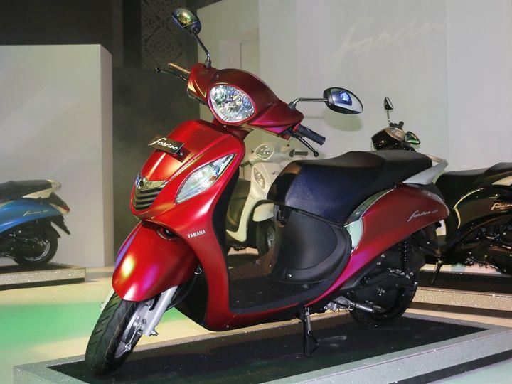 Yamaha Fascino Vs Honda Activa Vs Tvs Jupiter Vs Mahindra