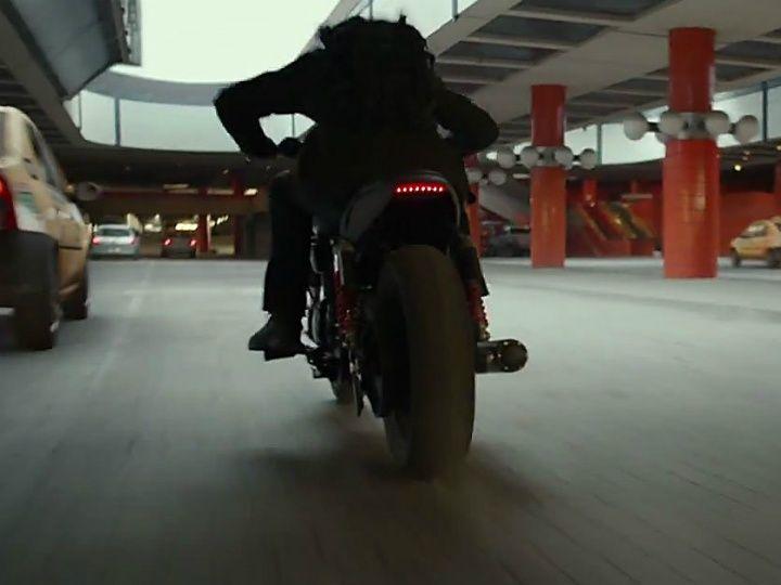 Possibly new Harley-Davidson in Captain America: Civil War