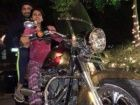 Harbhajan Singh instructing wife Geeta Basra