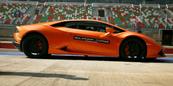 Lamborghini Huracan LP610-4 at the BIC