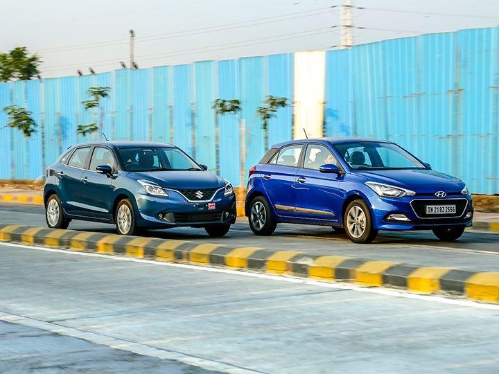 maruti suzuki baleno hyundai i20 comparison petrol zigwheels india m11 720x540