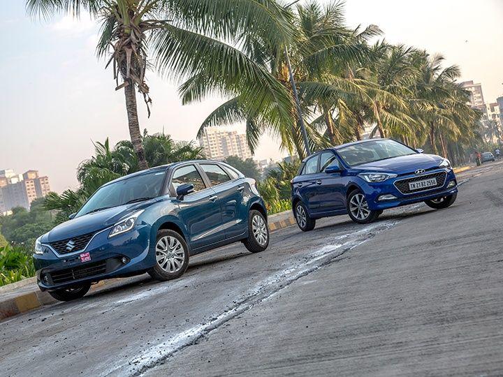 maruti suzuki baleno hyundai i20 comparison petrol zigwheels india m15 720x540