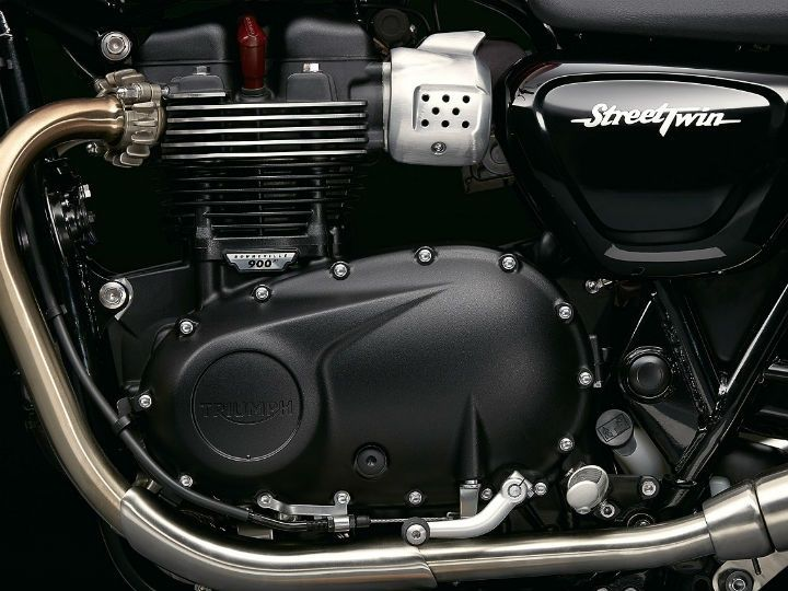 900cc liquid cooled parallel twin engine
