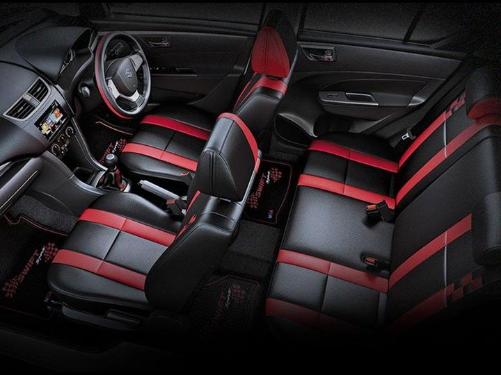 Maruti Suzuki Swift Glory Edition interior