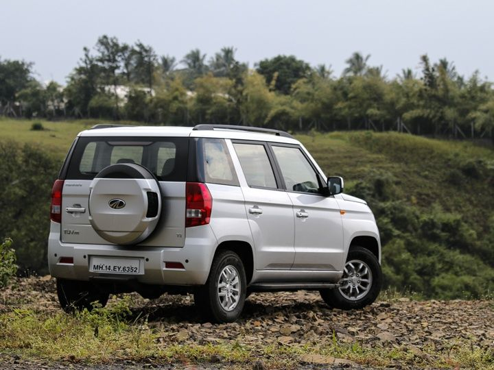 2015 Mahindra TUV300 Review rear iimage