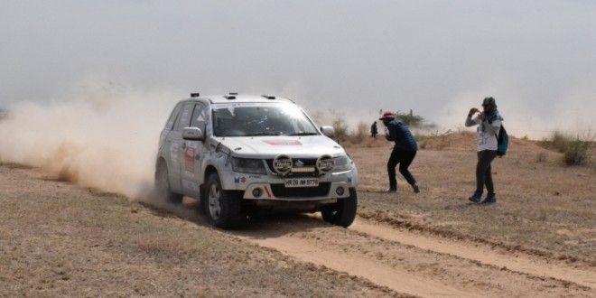 2016 Maruti Suzuki Desert Storm Day 2 Abhishek Mishra