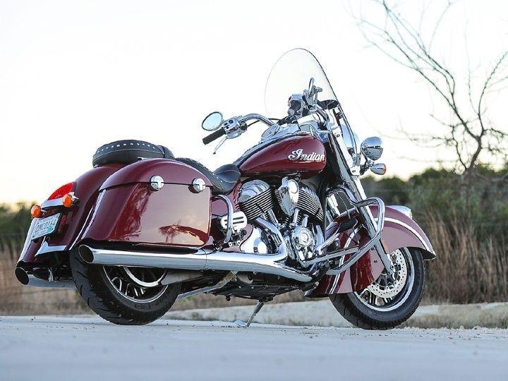 Indian Springfield rear