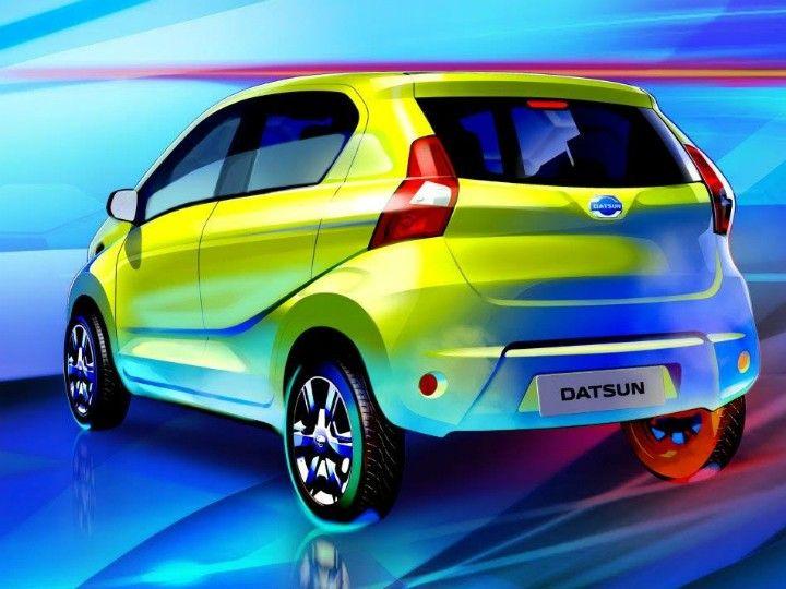 Datsun Redi-GO rear