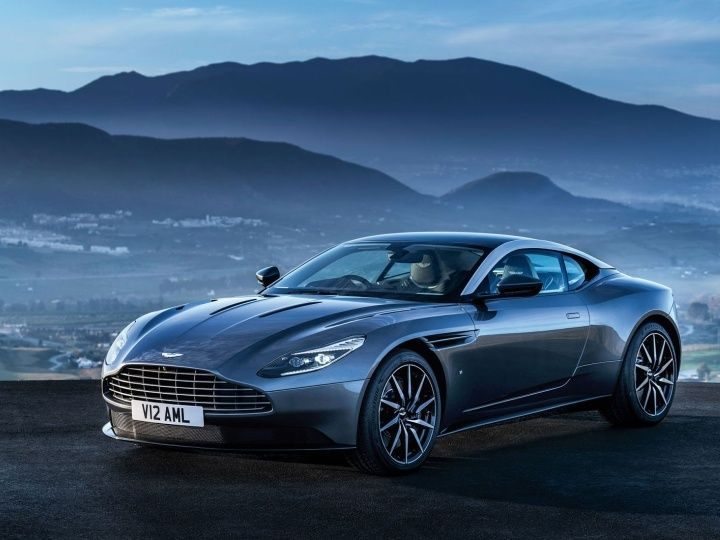 Aston DB11 pictures leaked
