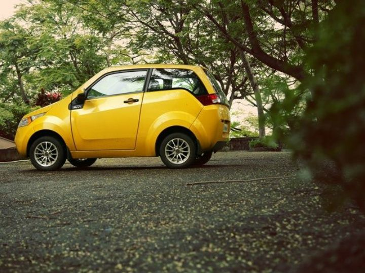 The electric car is still finding its feet in India