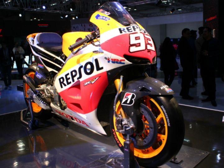 Honda RC213V MotoGP bike