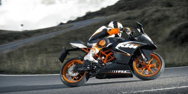 KTM launches new range of bikes for 2016