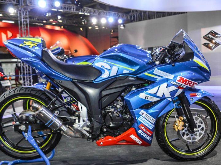 Suzuki Gixxer Cup bike