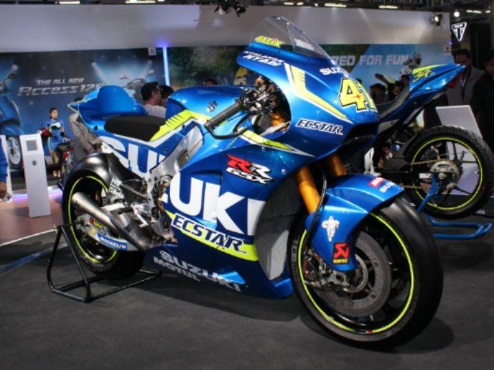 Suzuki GSX-RR MotoGP bike