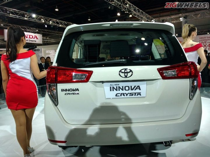 2016 Auto Expo Toyota Innova Crysta First Look Review