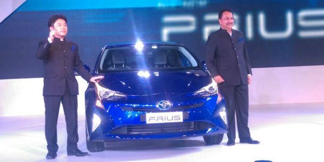 2016 Auto Expo: New Toyota Prius unveiled
