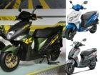 Yamaha Cygnus Ray-ZR vs Honda Dio vs Suzuki Lets: Spec Compa