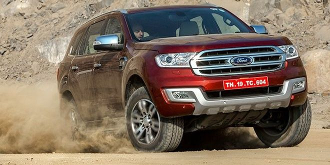 All-new Ford Endeavour