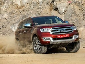 All-new 2016 Ford Endeavour: Special Coverage