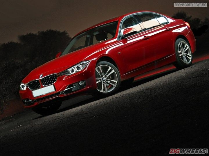 BMW 3 Series F30 front