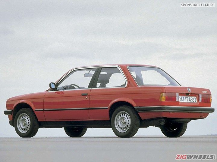 BMW 3 Series E30 rear