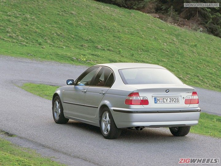BMW 3 Series E46 rear