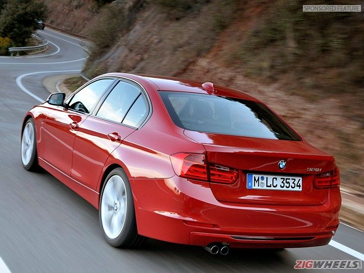 BMW 3 Series F30 rear