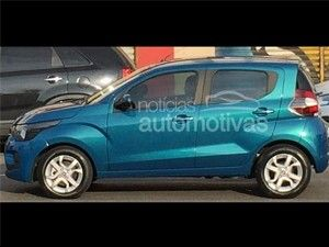 Fiat Mobi city car spied without camouflage
