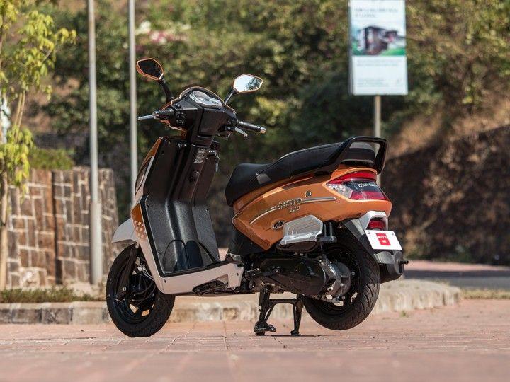 Mahindra Gusto 125 rear