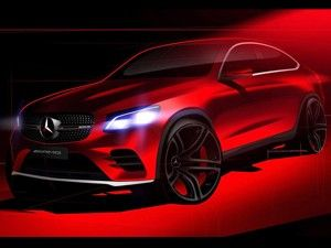 India bound Mercedes-Benz GLC Coupe teased