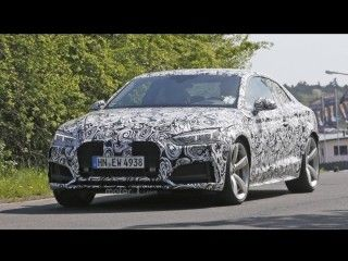 2017 Audi RS5 spied testing at the Nurburgring