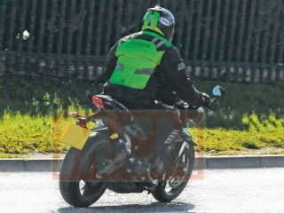 New Triumph Street Triple 765 Spotted Testing