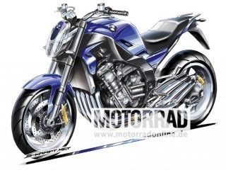 BMW Motorrad Working on a 6-Cylinder Motorcycle?