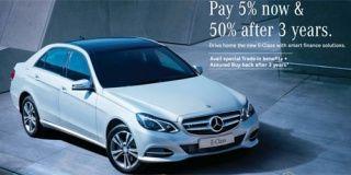 Mercedes Benz E-Class Offer