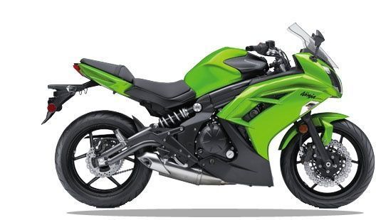 Kawasaki Ninja 650 Right Side View