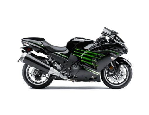 Kawasaki Ninja ZX 14R Right View