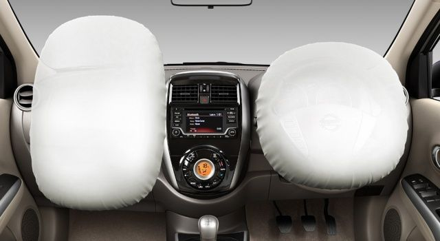 New Nissan Sunny Airbags