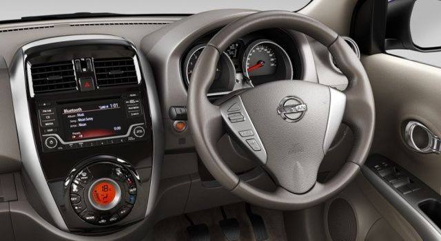 New Nissan Sunny Dashboard