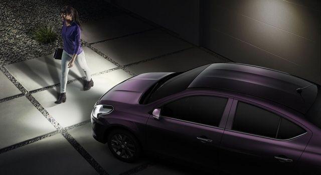 New Nissan Sunny Follow me headlamp