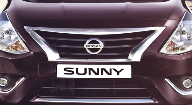 New Nissan Sunny Front Grill