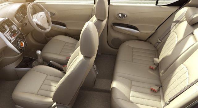 New Nissan Sunny Interior View