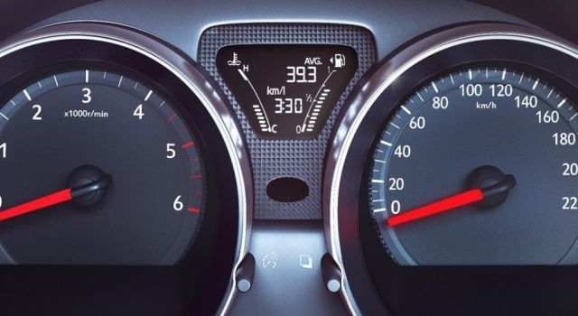 New Nissan Sunny Speedometer