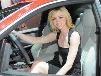 Girls at the 2012 New York International Auto Show